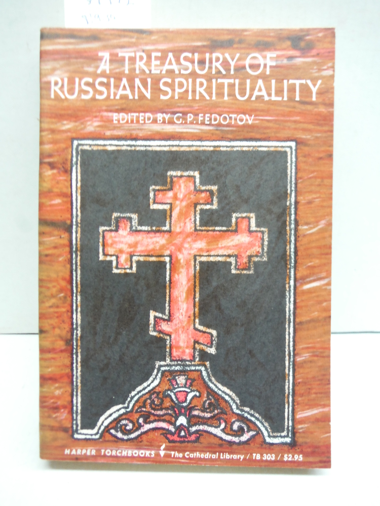 A Treasury of Russian Spirituality