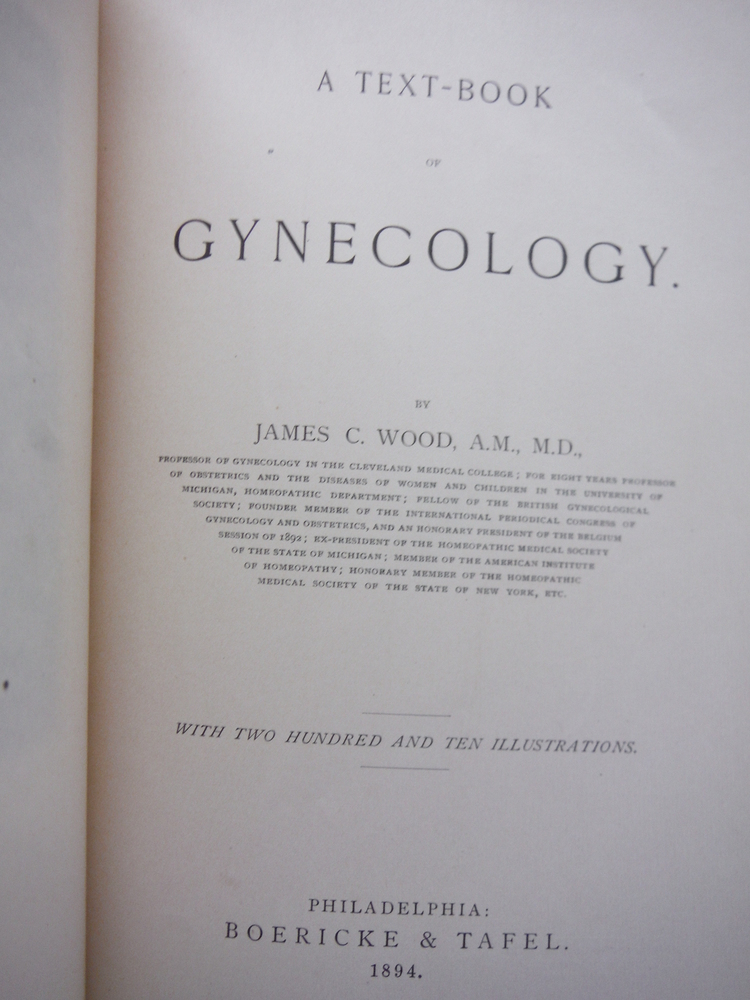 Image 1 of A Text-Book of Gynecology