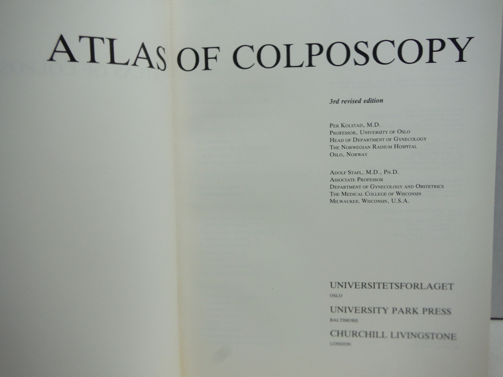 Image 1 of Atlas of Colposcopy