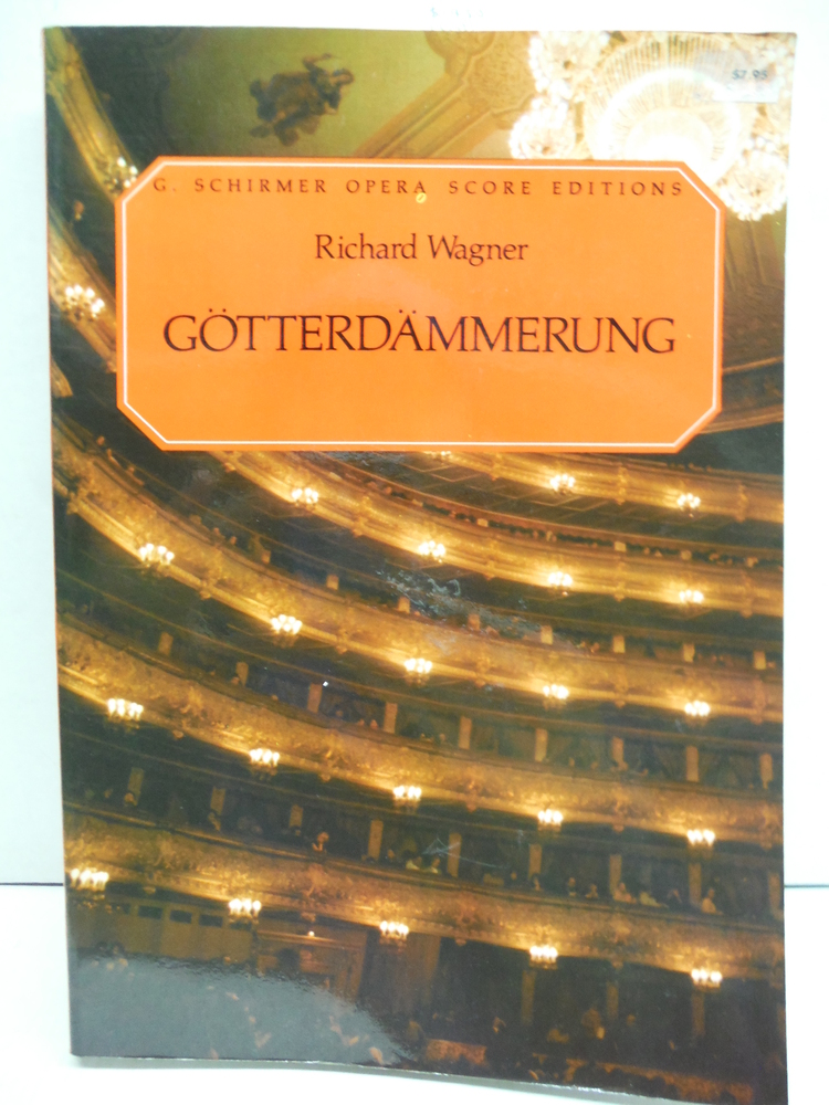 The Ring of the Nibelung fourth part Gotterdammerung (The Twilight of the Gods)