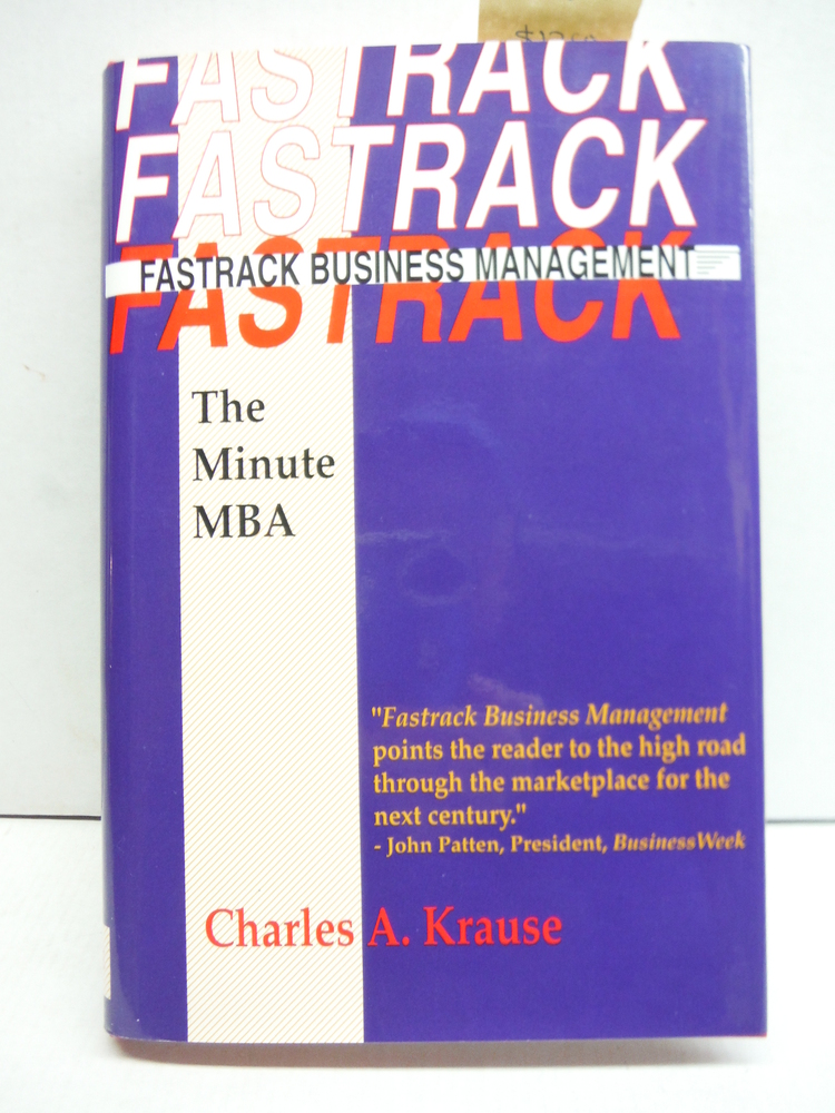 Fastrack Business Management: The Minute MBA