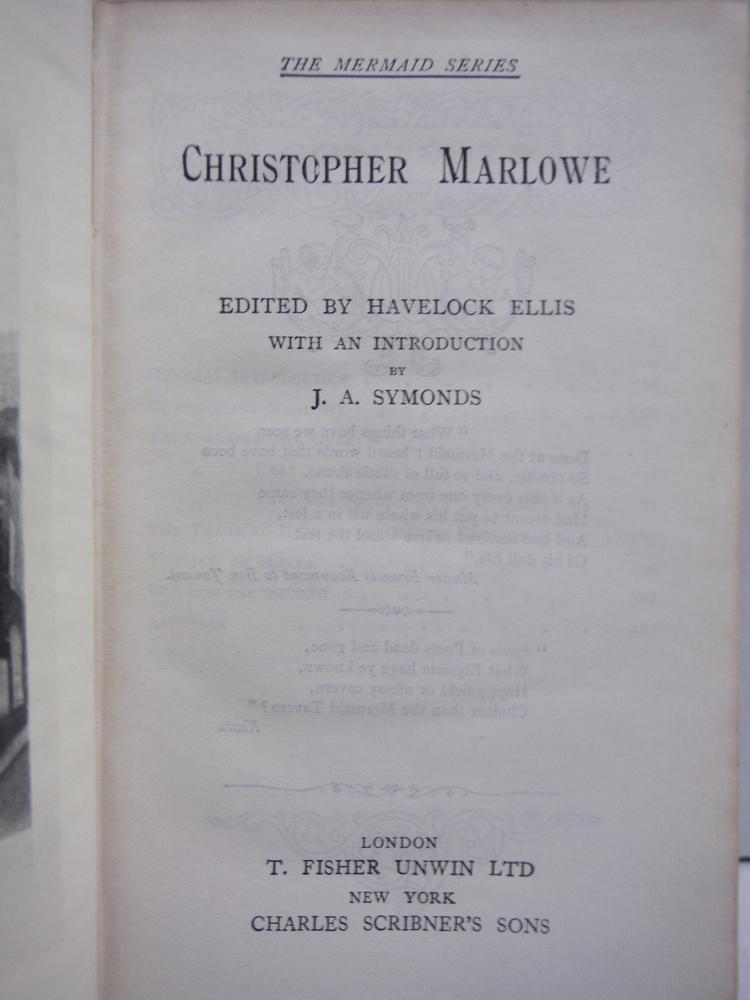 Image 1 of CHRISTOPHER MARLOWE. THE MERMAID SERIES