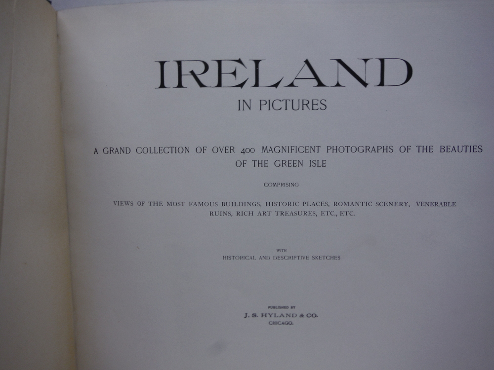 Image 1 of Ireland in Pictures: A Grand Collection of Over 400 Magnificent Photographs of t