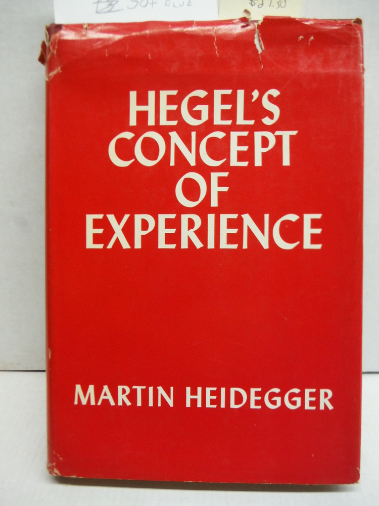 Hegel's Concept of Experience