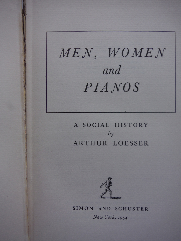 Image 1 of Men, women and pianos; a social history