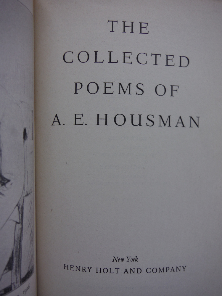 Image 1 of The Collected Poems of A. E. Housman
