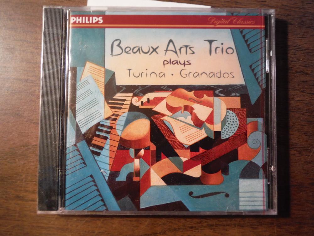 Image 0 of Beaux Arts Trio performs Turina Trios 1 + 2, Circlo op 91; Grandos Trio op 50 (P