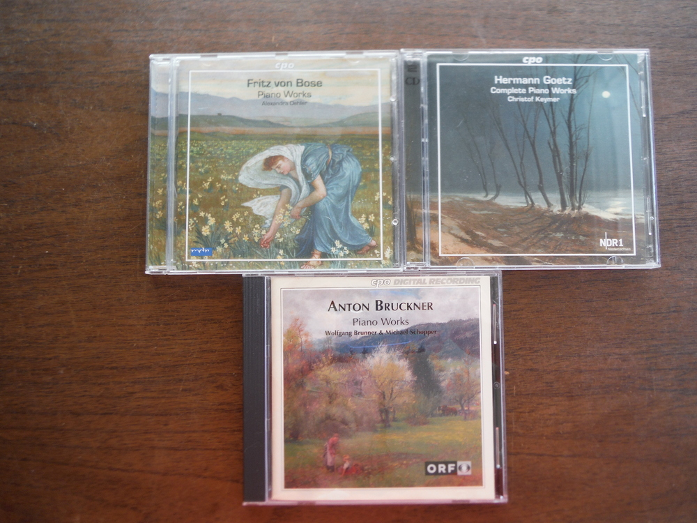 Lot of 3 CDs of CPO company music.