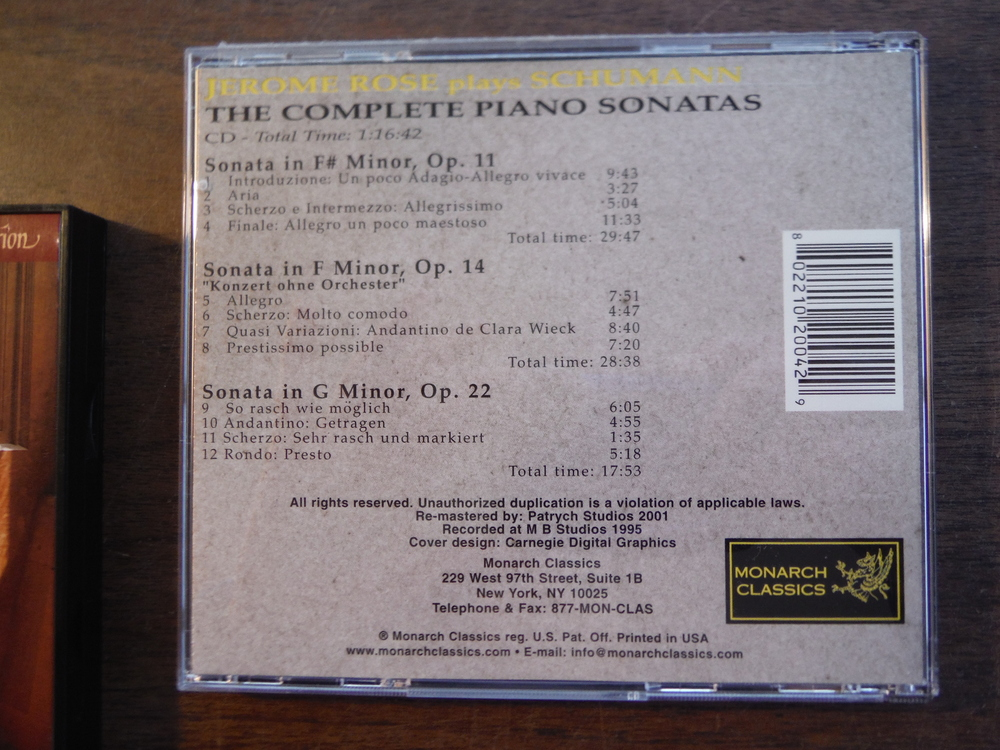Image 3 of Lot of 4 CDs of music by Schumann.