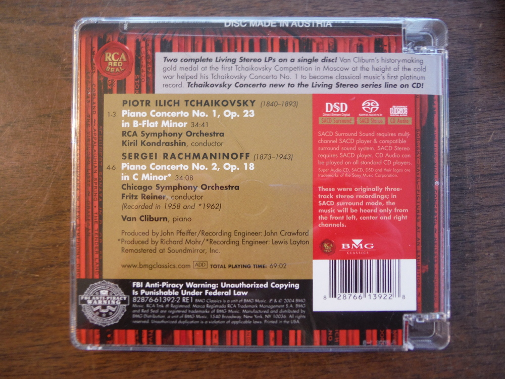 Image 2 of Lot of 4 CD sets of music by Tchaikovsky.
