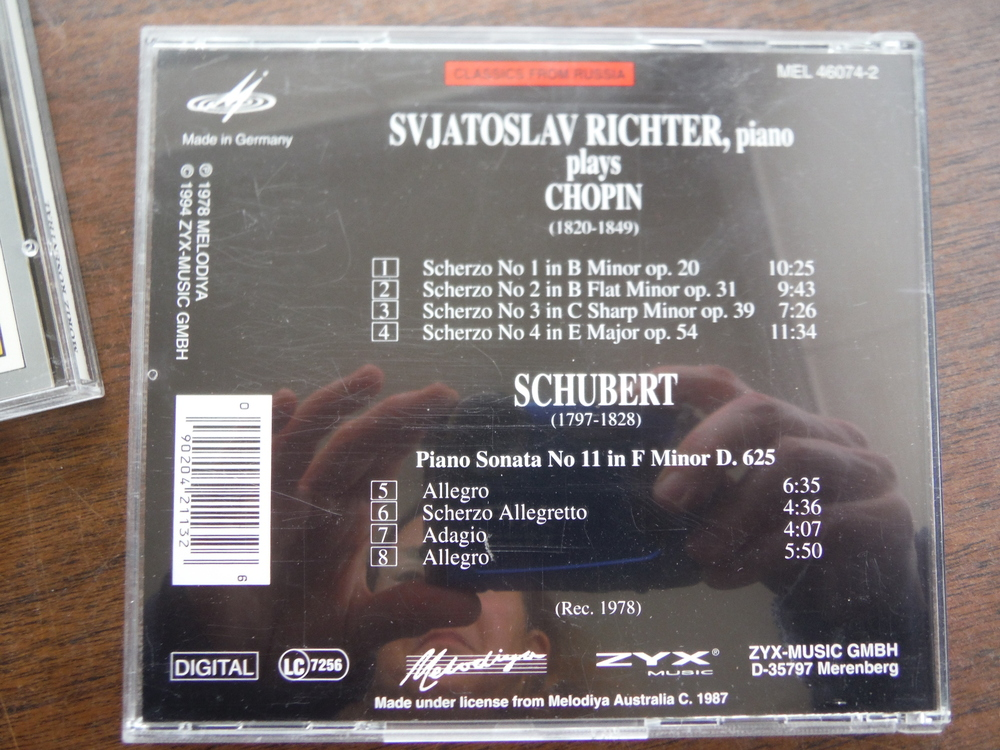 Image 2 of Lot of 5 CDs of music  by Schubert and Chopin.