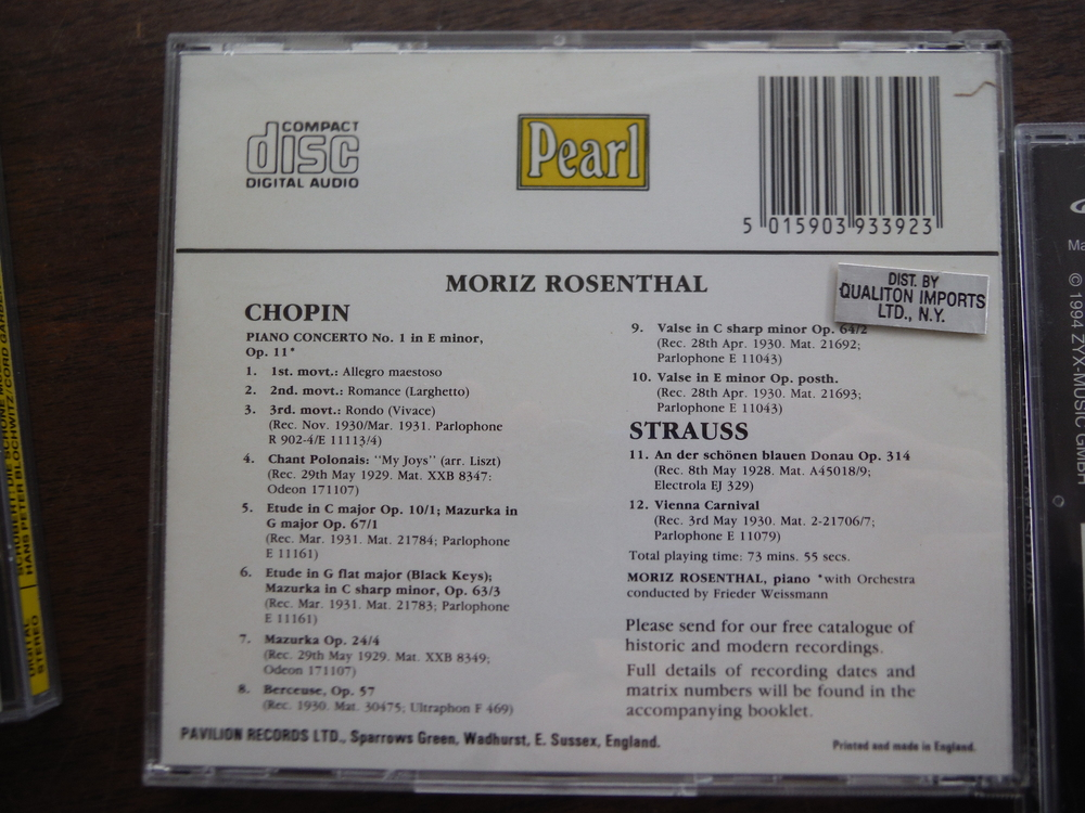 Image 3 of Lot of 5 CDs of music  by Schubert and Chopin.