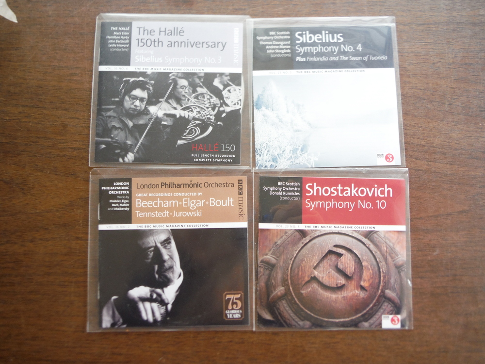 Image 0 of Lot of 4 CDs of BBC music