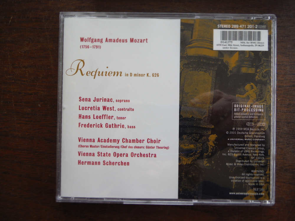 Image 2 of Lot of 4 CD sets  of music by Mozart