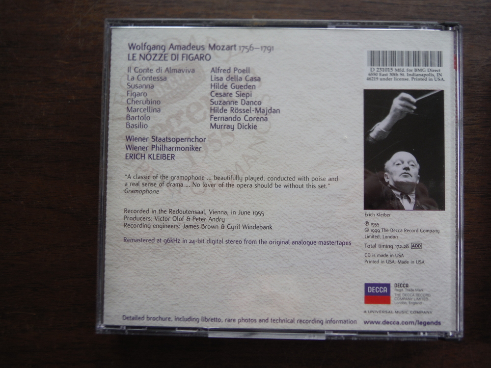 Image 4 of Lot of 4 CD sets  of music by Mozart