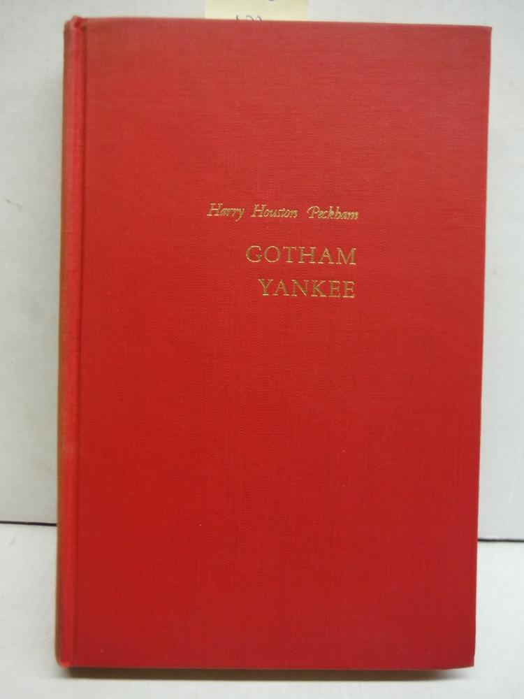 Gotham Yankee;: A biography of William Cullen Bryant