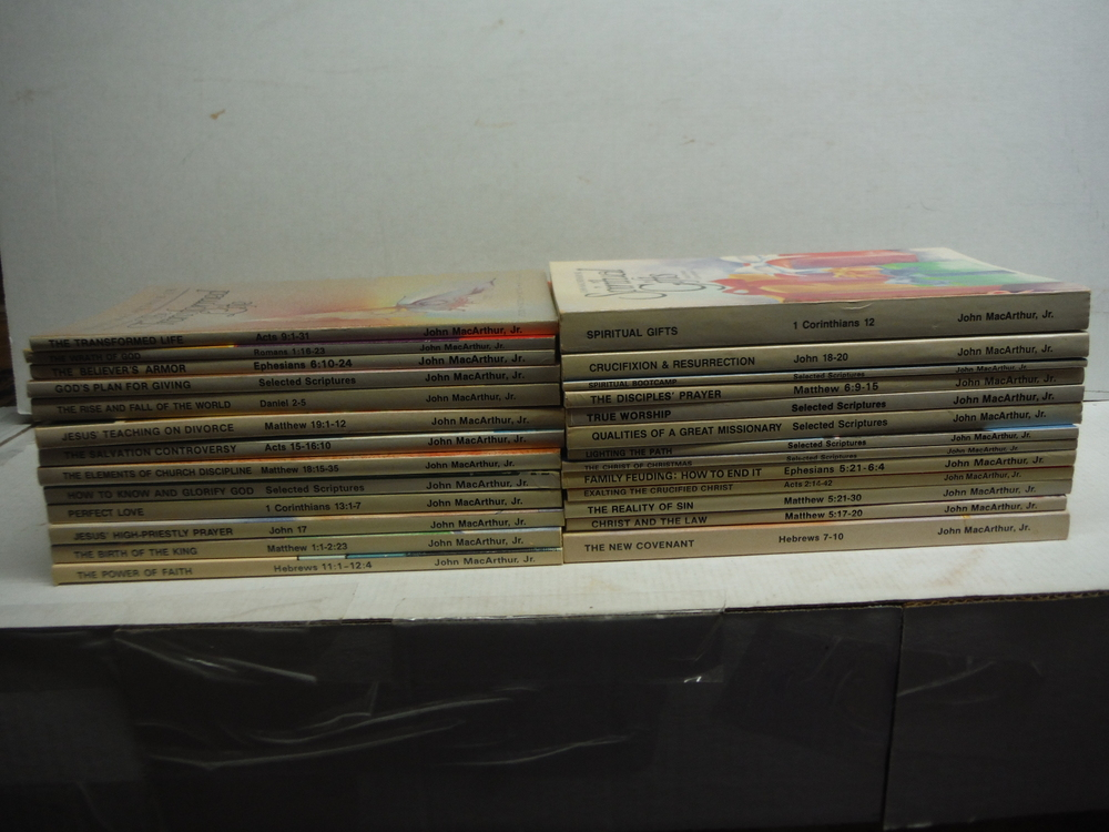 Study Notes Series - 26 softcover volumes