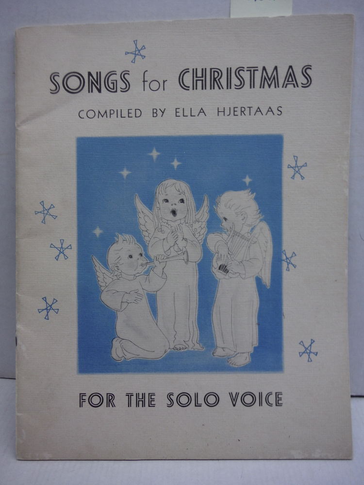 Songs for Christmas for the Solo Voice
