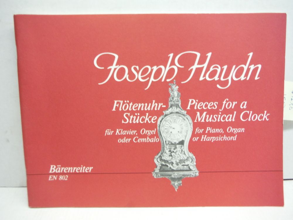Joseph Haydn Pieces for a Musical Clock for Piano, Organ or Harpsichord