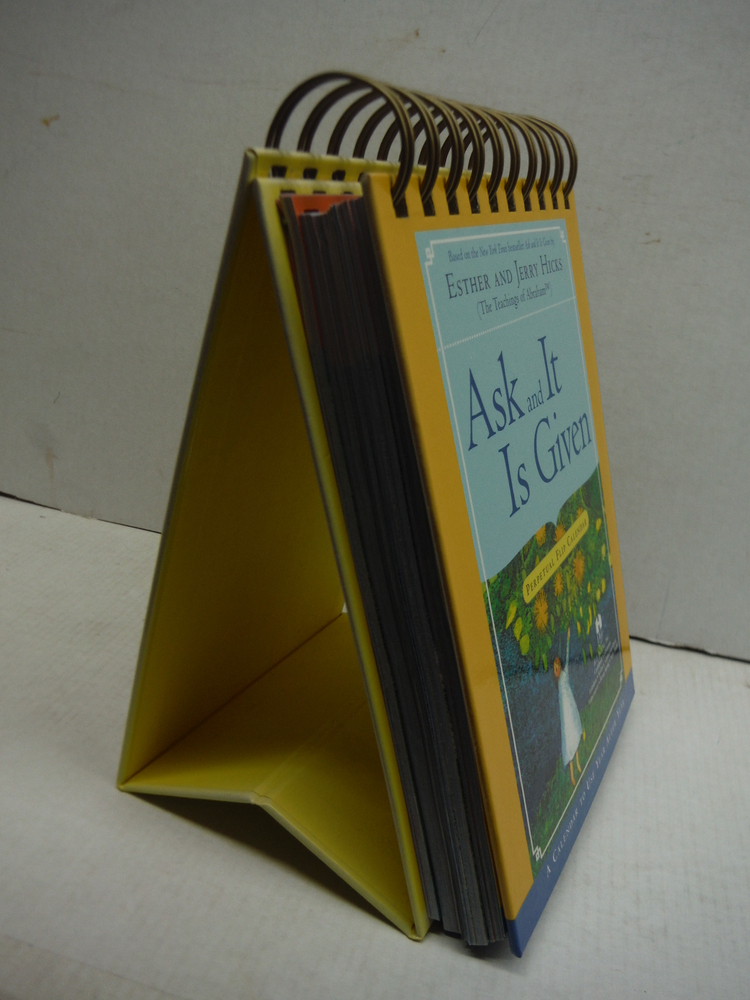 Image 1 of Ask And It Is Given Perpetual Flip Calendar: A Calendar to Use Year After Year