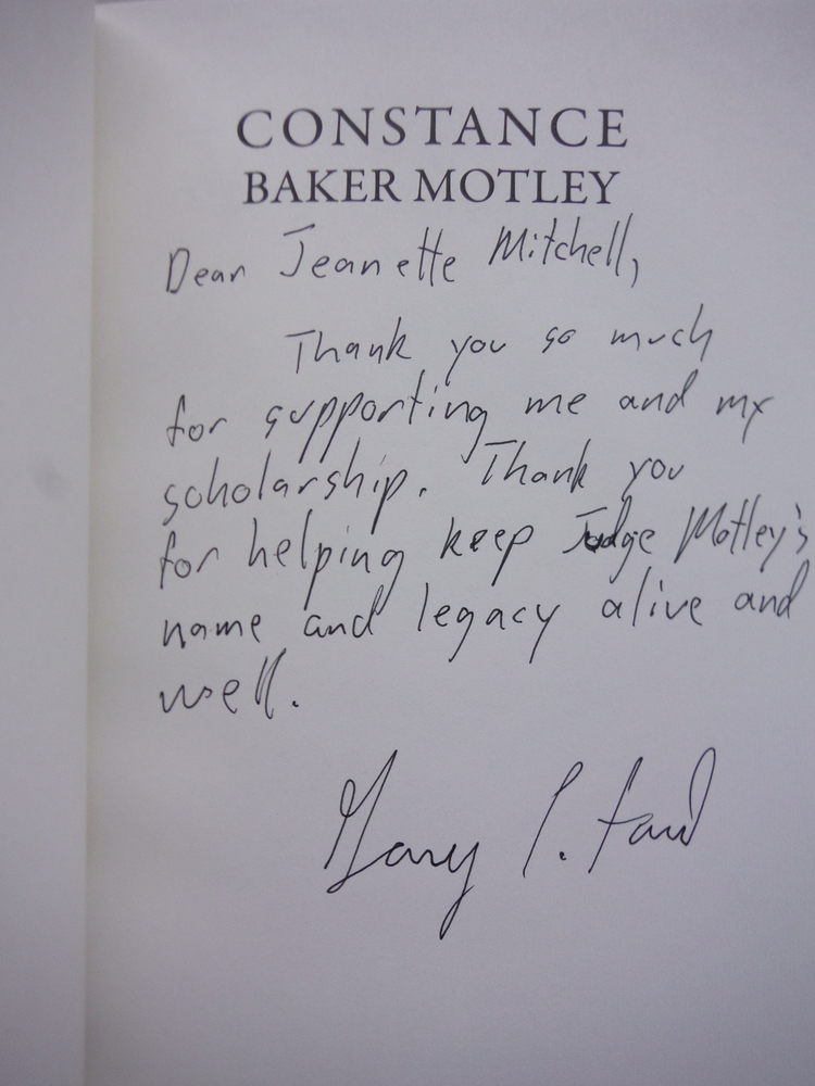 Image 1 of Constance Baker Motley: One Woman's Fight for Civil Rights and Equal Justice und