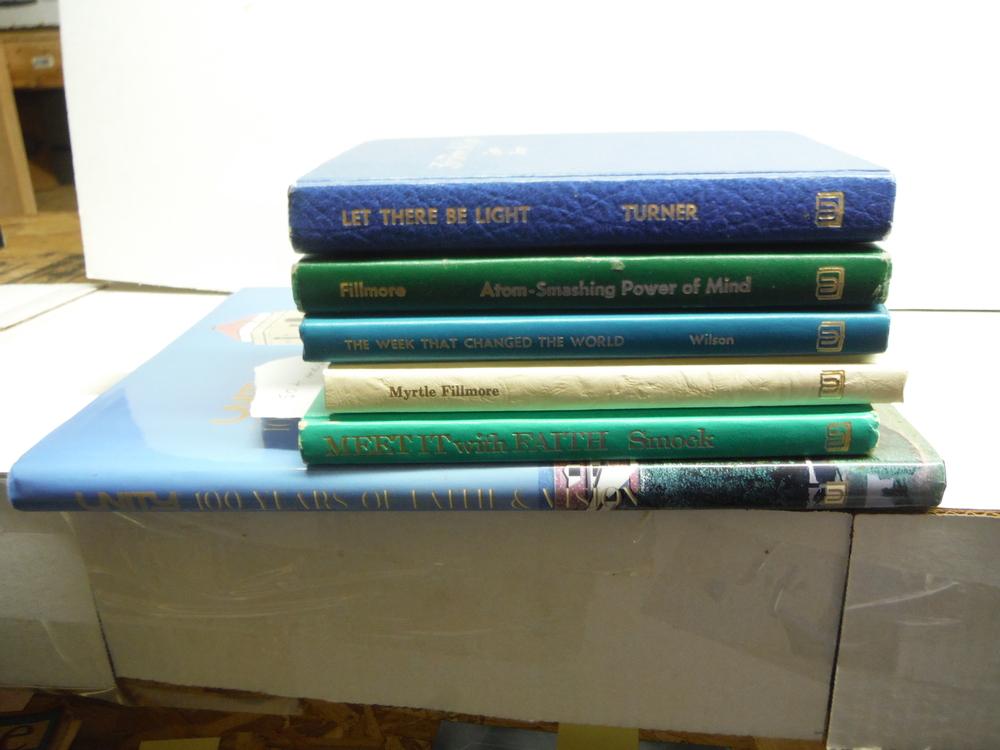 Unity School of Christianity Published Hardbound Books Six Volumes