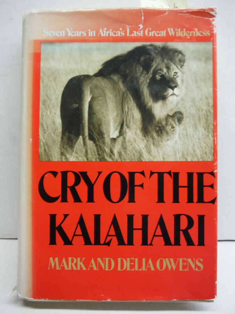 Cry of the Kalahari (G K Hall Large Print Book Series)