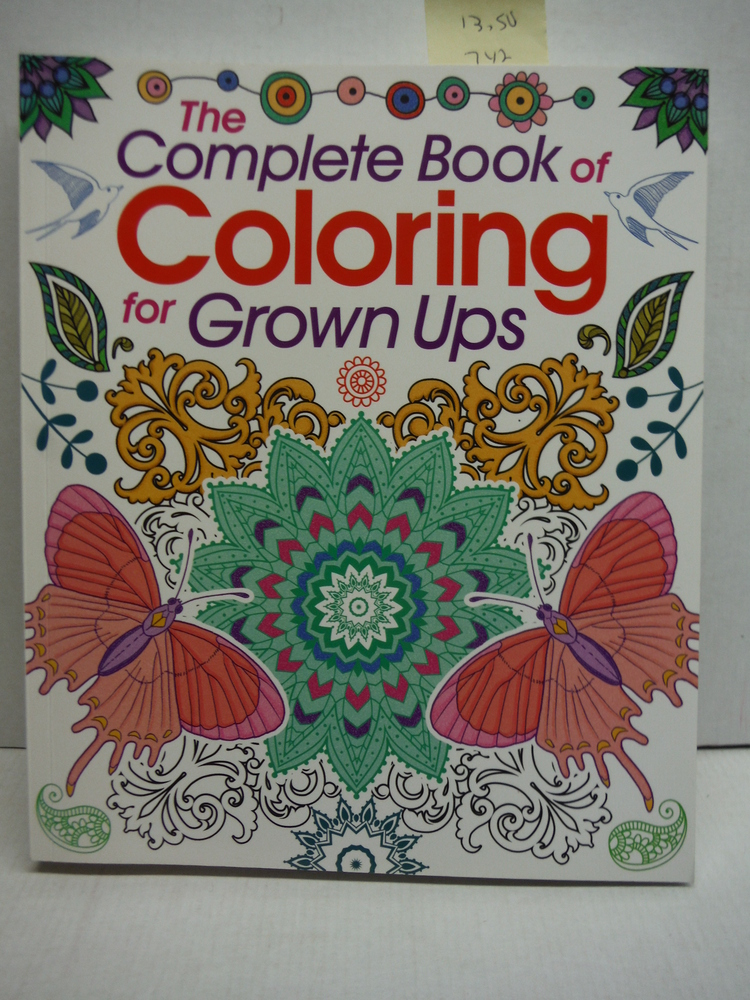 The Beautiful Colouring Book for Grown-Ups