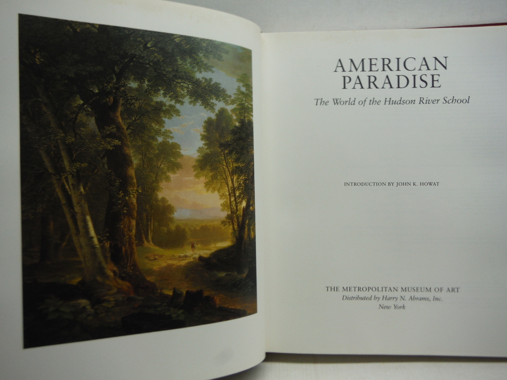 Image 1 of American Paradise: The World of the Hudson River School