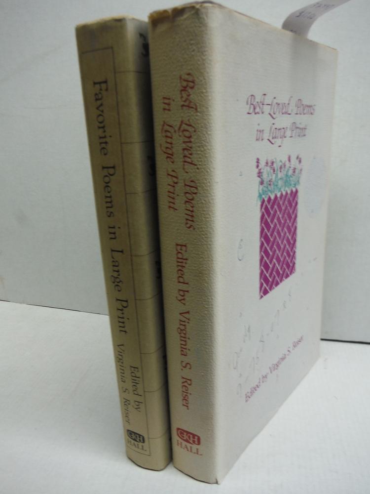 Favorite Poems in Large Print - 2 Vols.