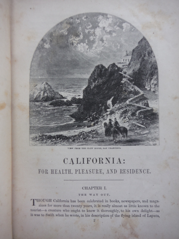 Image 2 of California: for Health, Pleasure, and Residence, a Book for Travellers and Settl