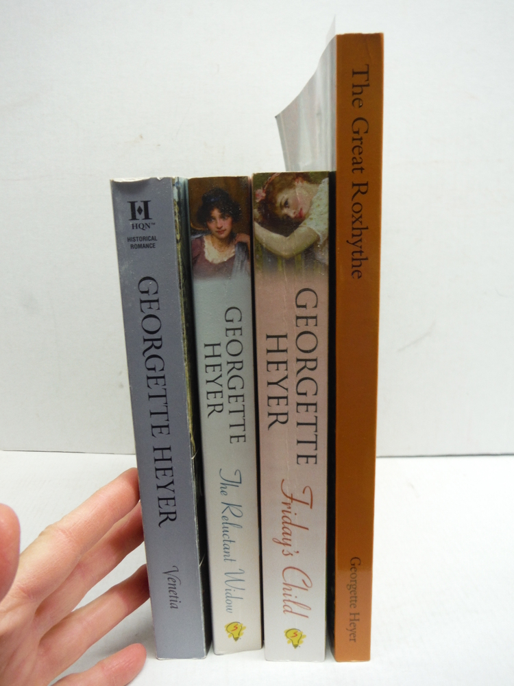 Georgette Heyer Novels - four softcover books