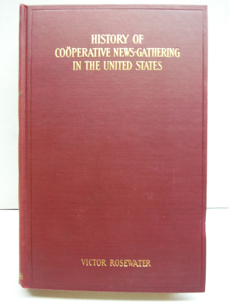 History of Cooperative News Gathering in the United States