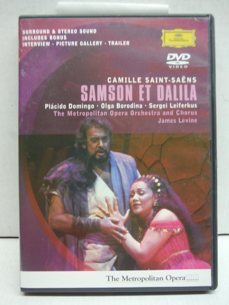 Saint-Saens - Samson et Dalila / Domingo, Borodina, Leiferkus, Fink, Levine, Met