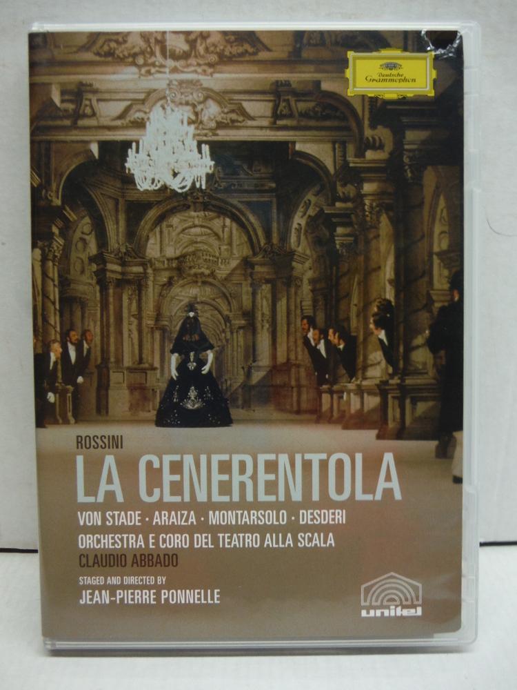 Rossini - La Cenerentola / Frederica von Stade, Francisco Araiza, Paolo Montarso