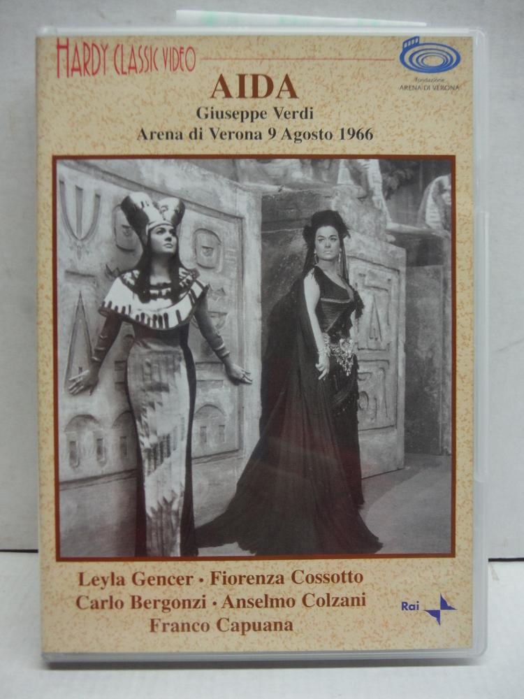 Verdi - Aida / Gencer, Bergonzi, Cossotto, Colzani, Giaiotti, Pugliese, Capuana,