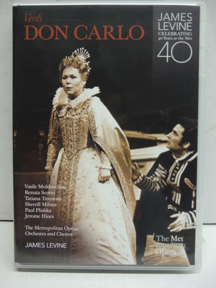 Verdi: Don Carlo - James Levine Metropolitan Opera Exclusive DVD