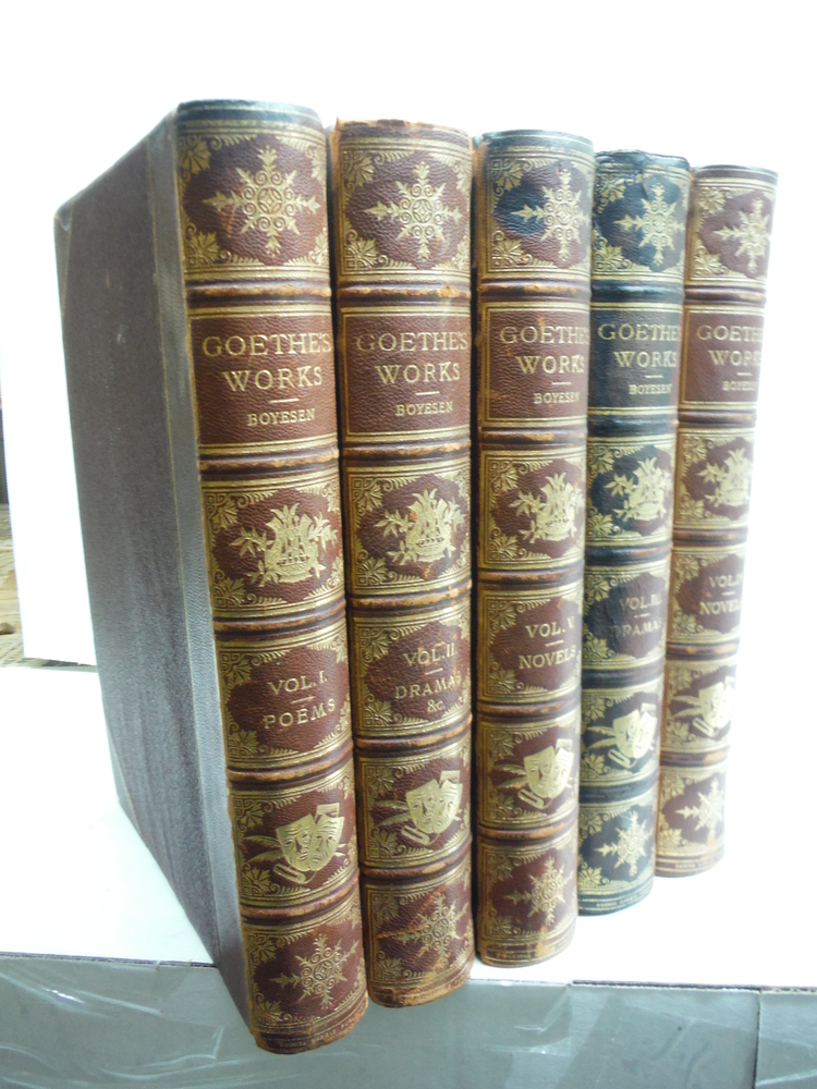 The Works of Goethe, Illustrated By the Best German Artists. Fine Binding, Compl