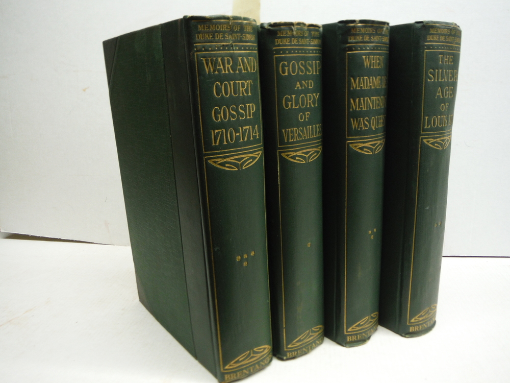 Memoirs of the Duke of the Duke de Saint-Simon (4 volumes)