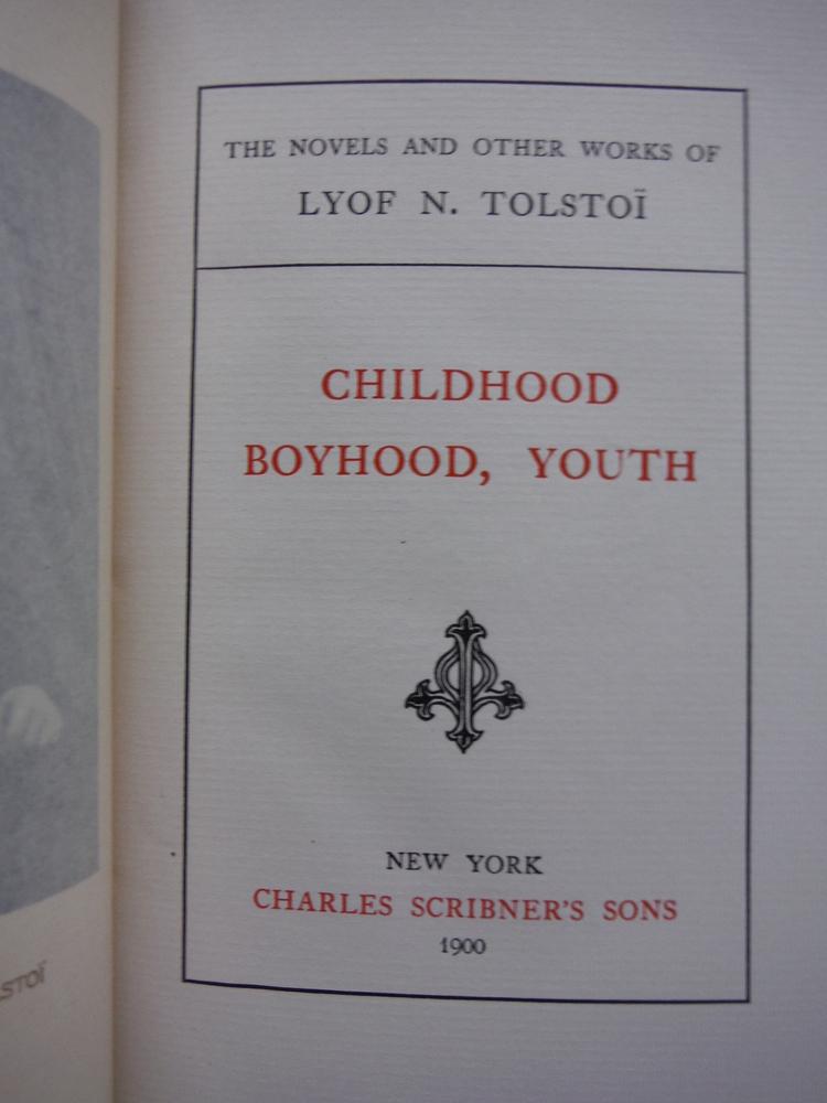 Image 1 of Childhood Boyhood, Youth