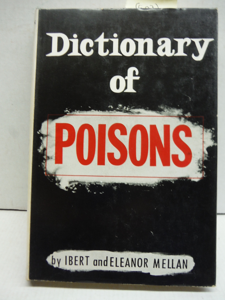 Image 0 of Dictionary of poisons (Midcentury reference library)