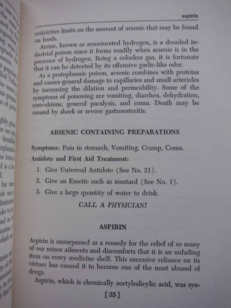 Image 1 of Dictionary of poisons (Midcentury reference library)