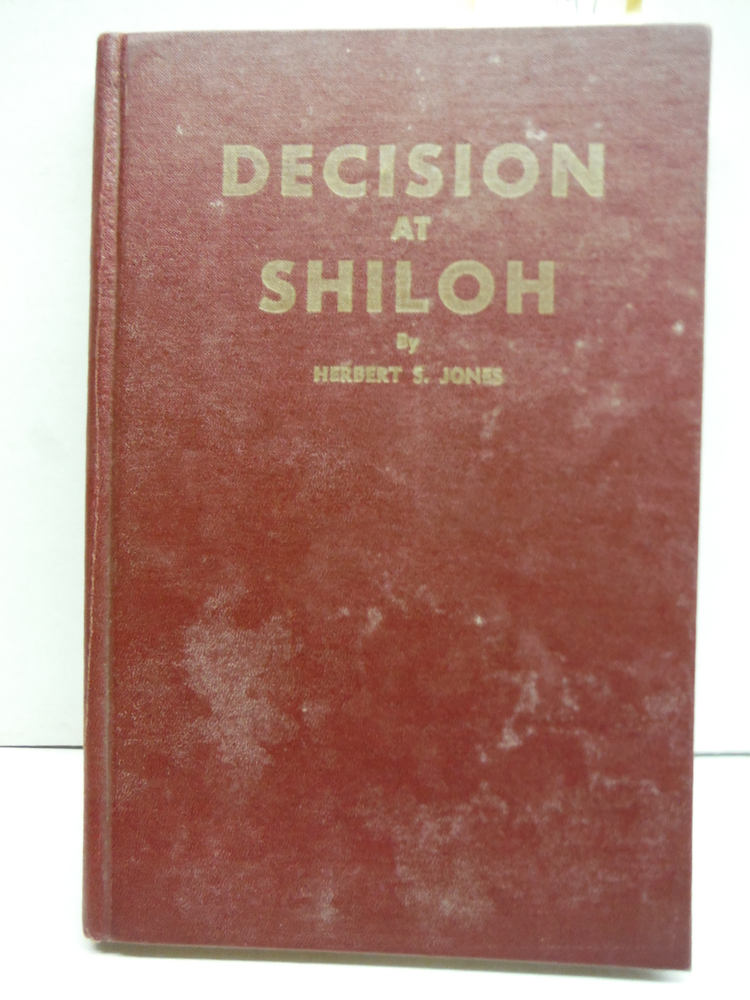 Decision at Shiloh-Signed