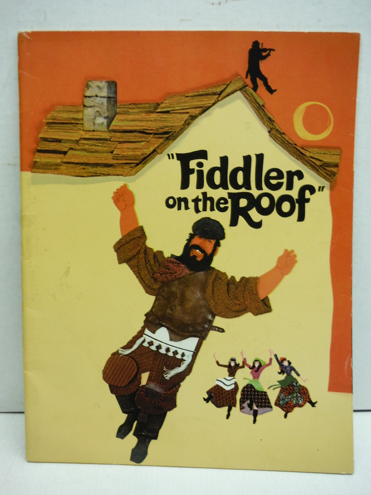 Fiddler on the Roof. 1971 Film Programme to the Mirisch Production Movie