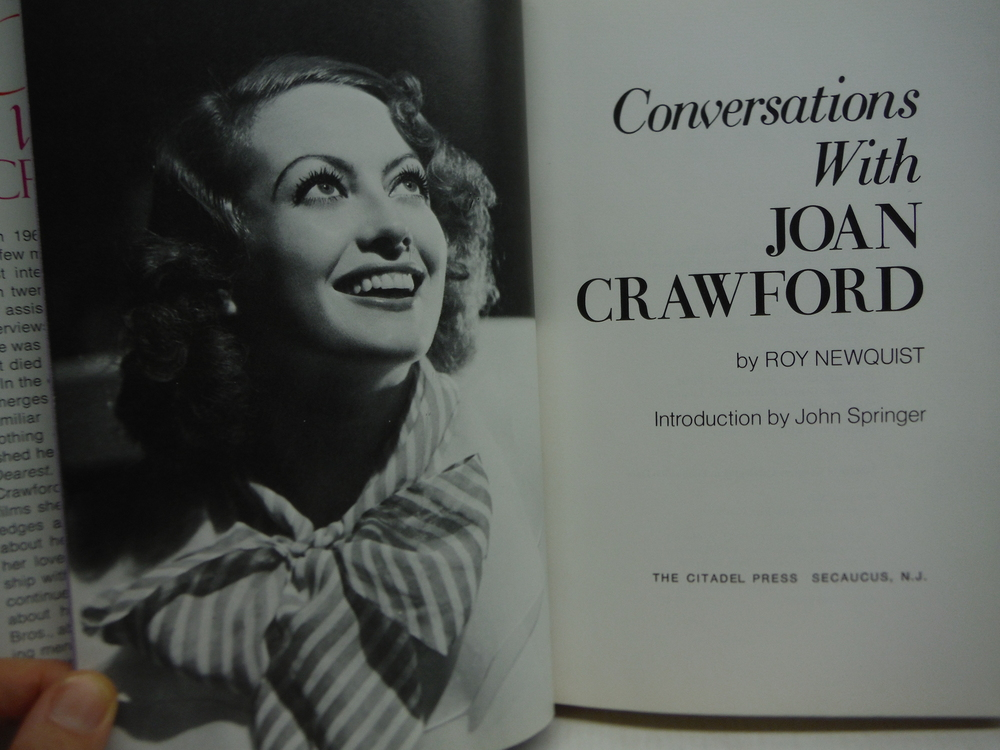 Image 1 of Conversations With Joan Crawford
