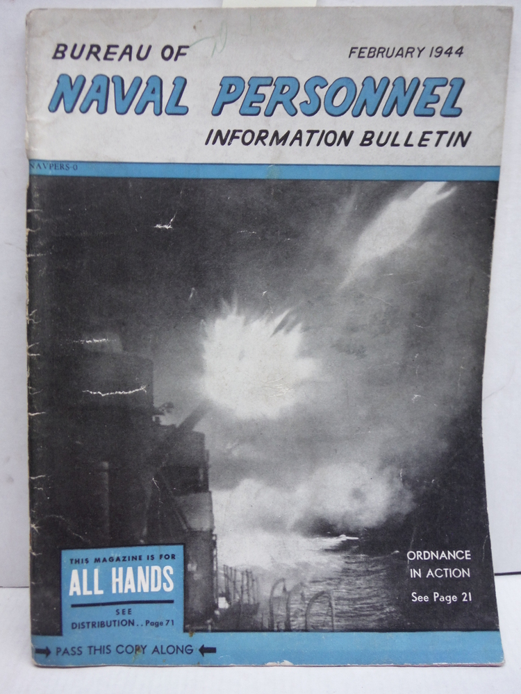 Bureau of Naval Personnel Information Bulletin  No. 323 (February 1944)
