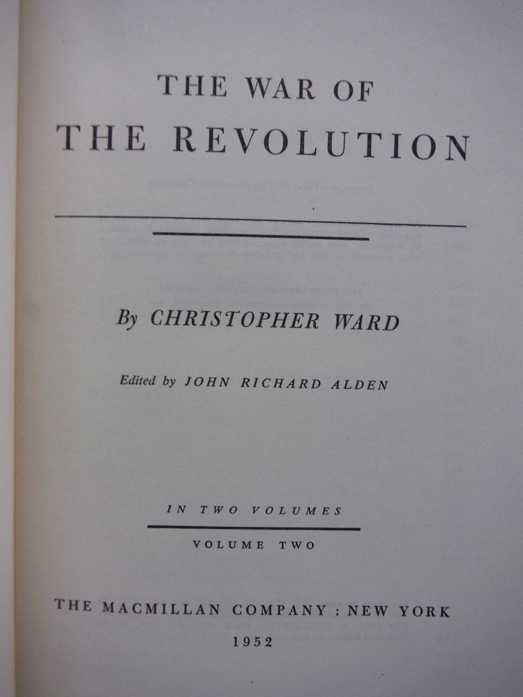 Image 2 of The War of the Revolution (Two Volume Set, Boxed)
