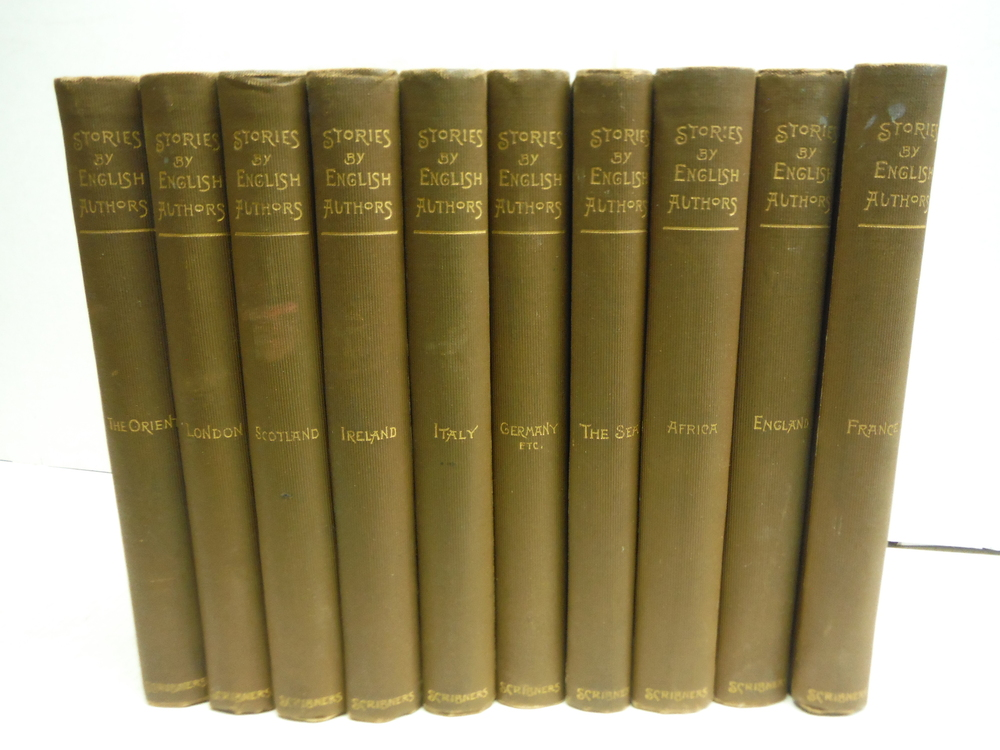 Scribner's Stories by English Authors (10 Vol. set)