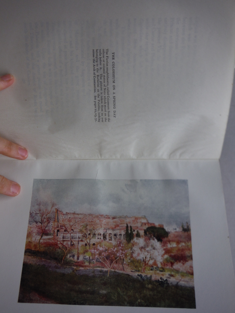 Image 2 of ROME PAINTED BY ALBERTO PISA. TEXT BY M.A.R. TUKER AND HOPE MALLESON