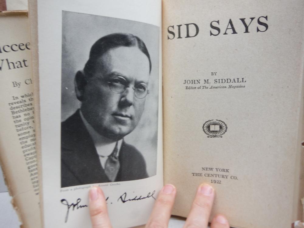 Image 1 of Sid Says